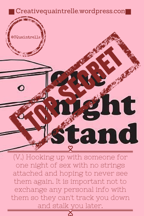 One Night Stands (2)