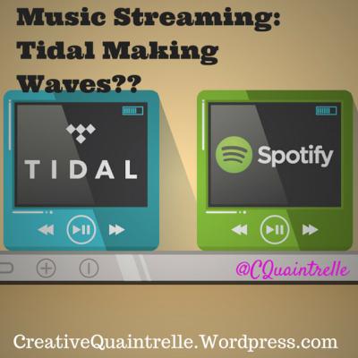 Music Streaming- Tidal Making Waves--