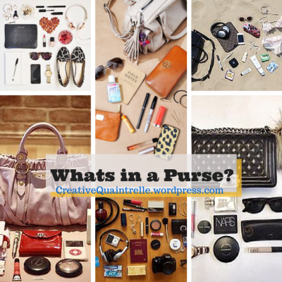 Whats in a Purse-
