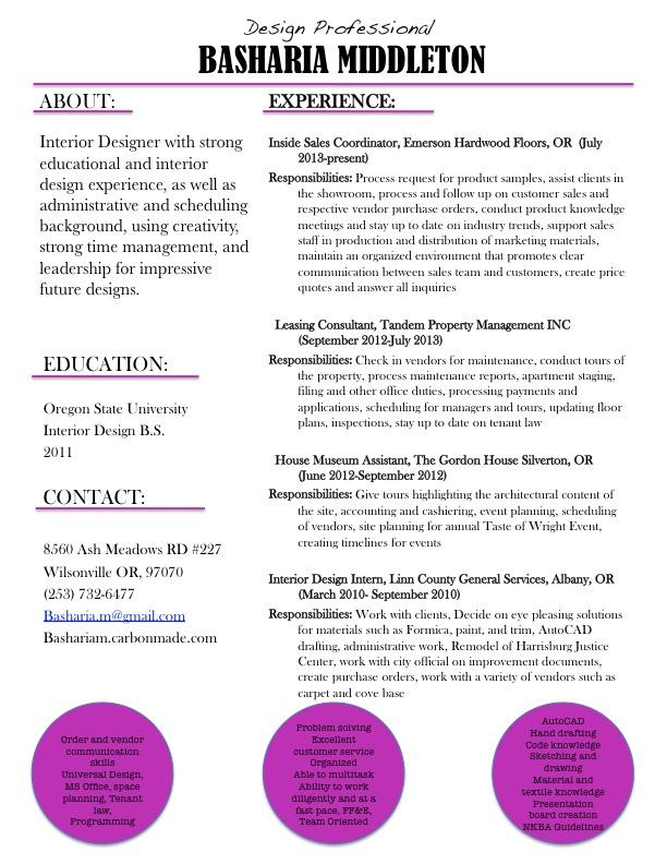 Resume Remodel – Creative Quaintrelle